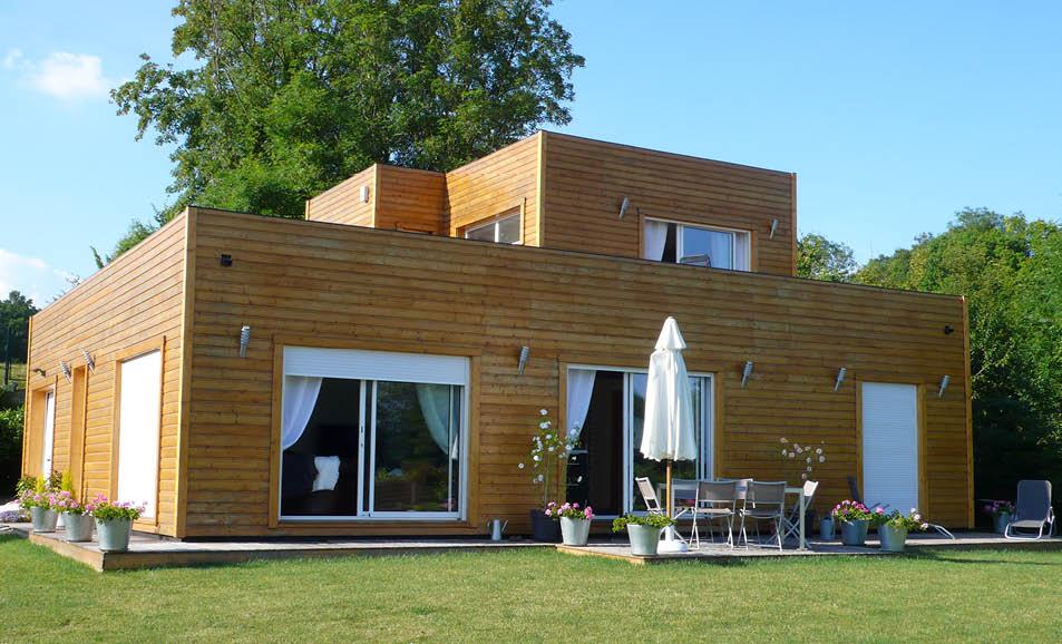 Maison en kit ossature bois maison ossature bois kits for Ossature bois en kit